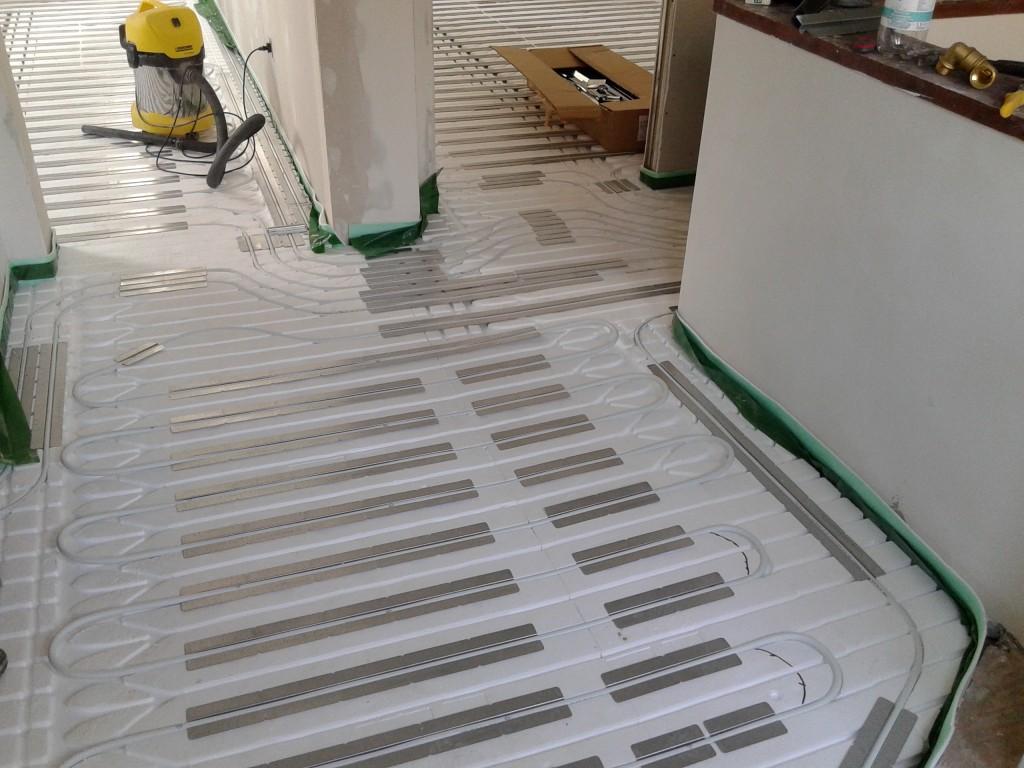Ogrzewanie podłogowe w systemie suchym