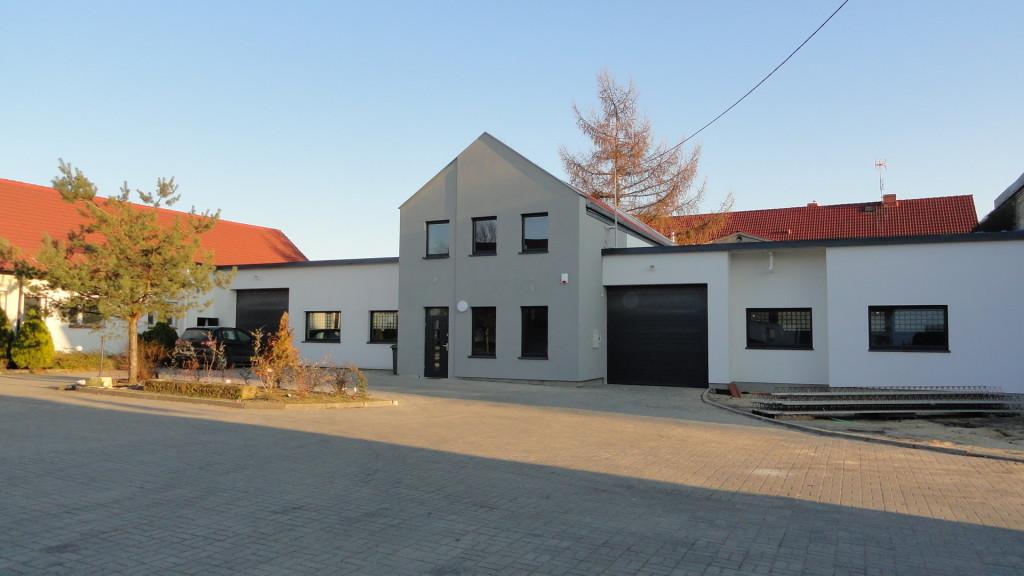 Biuro firmy w Raculi -2013