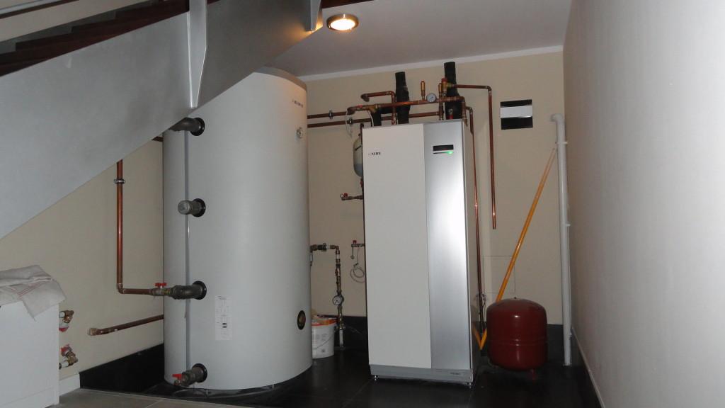 Biuro firmy w Raculi - pompa ciepła